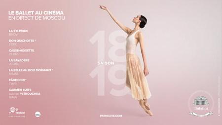 PROGRAMME BALLET DU BOLSHOI DE MOSCOU