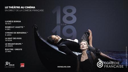 PROGRAMME COMÉDIE FRANÇAISE / THÉÂTRE AU CINÉMA