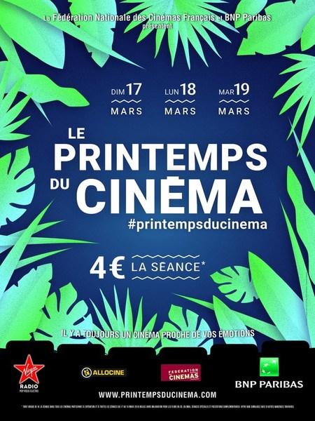 LE PRINTEMPS DU CINEMA 2019