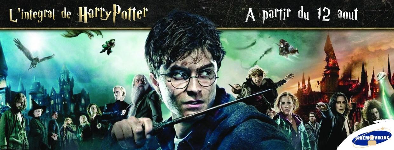 Rétrospective Harry Potter au cinéma